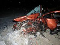 Случившаяся 2 января авария унесла жизни 3 человек.Фото пресс-службы МВД по Чувашии