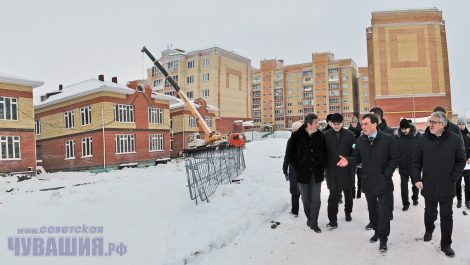 Строители заверяют, что сроки сорваны не будут.Фото Олега МАЛЬЦЕВА