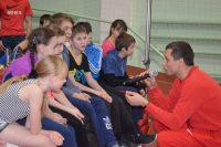 На мастер-классе дети с восторгом общались с самим Юрием Борзаковским.Фото cap.ru