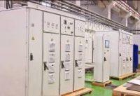 Устройство плавного пуска асинхронных и синхронных двигателей серии УППВЭ мощностью 8 МВт на напряжение 6 и 10 кВ со шкафом автоматики.