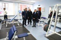 Участников форума порадовало современное оснащение в спортивной школе. Фото cap.ru
