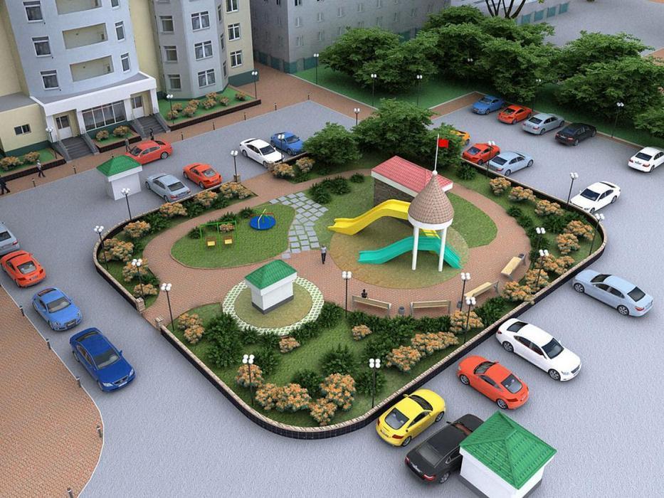Так выглядит хороший двор по мнению горадминистрации.Фото cap.ru