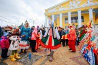 Более 13 тыс. человек отметили Масленицу на Красной площади.Фото cap.ru