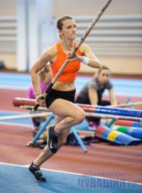 Лучшим для Анжелики Сидоровой в сезоне остается результат 4,70 метра, показанный на турнире в Новочебоксарске.Фото Максима ВАСИЛЬЕВА