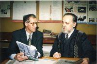 Двум тезкам, Георгию Федорову (слева) и народному писателю Чувашии Георгию Краснову всегда было что обсудить.