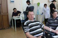 Жители Вурнарского района сдали 38 литров крови, которая будет использована в лечебных учреждениях республики.Фото cap.ru