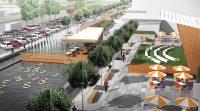 В проекте благоустройства территории перед «Шупашкаром» есть и зеленая зона, и парковка.cap.ru