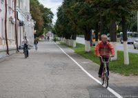 Чебоксарцы мечтают о том, чтобы велодорожки появились в каждом микрорайоне города.Фото Дмитрия БАРЫШОВА из архива редакции