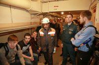 Большое впечатление от посещения «бункера» получили и студенты, и журналисты.Фото Никиты ВАСИЛЬЕВА
