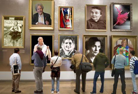 Для выставки о женщинах, которыми гордится Чувашия, одного музейного зала точно не хватило бы. Коллаж «СЧ»