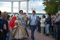 В прошлом году празднование Акатуя в районе совпало со 160-летним юбилеем Мариинского Посада. На торжество прибыла сама Императрица Мария Александровна (в исполнении Анжелы Сергеевой).Фото cap.ru