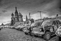 Как и в прошлом году, ралли «Шелковый путь» стартует на Красной площади в Москве...Фото silkwayrally.com