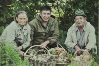 Игорь Кушев очень любил «тихую охоту» и даже составил свою карту грибника.