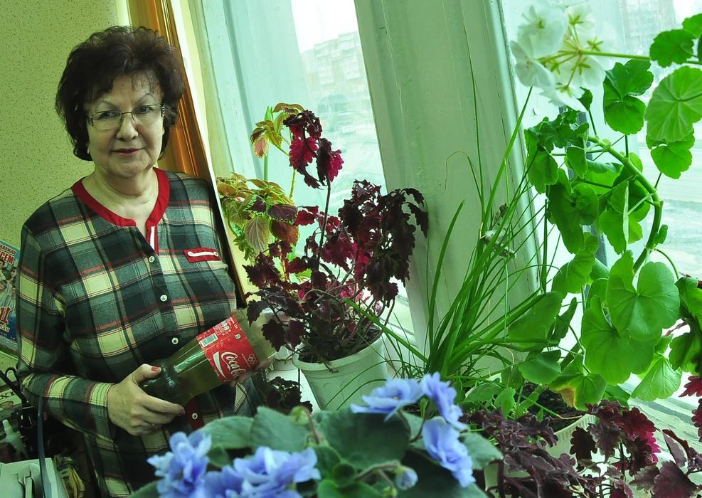 Ведущая «пенсионки» Елена Зайцева может дать совет и садоводам.