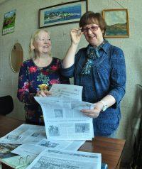 Корректоры Галина Андреева и Людмила Романова и в общении с коллегами отличаются предельной корректностью и тактом.
