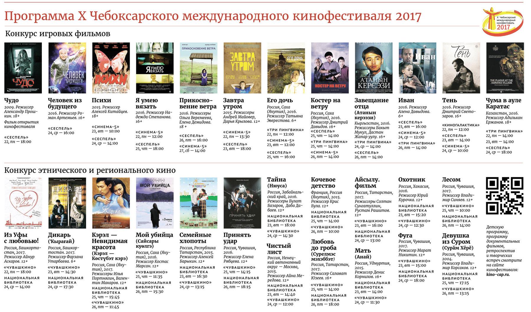 программа чебоксарского кинофестиваля 2017