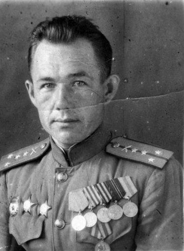 Сотрудник ОКР СМЕРШ гвардии капитан Петр Соколов
