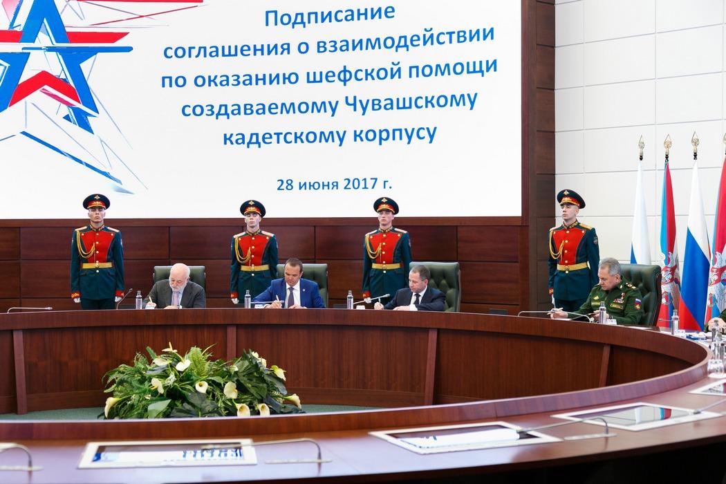 Минобороны РФ оказывает активную помощь школам икадетским корпусам