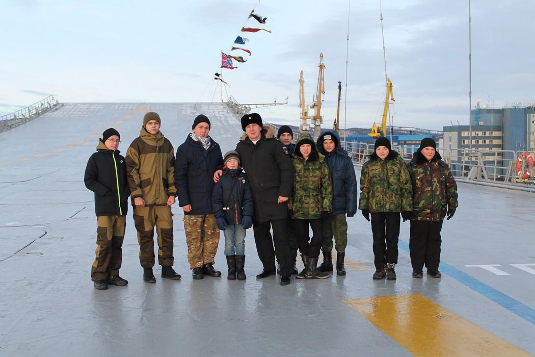 Авианосец «Адмирал Кузнецов» доставили наремонт