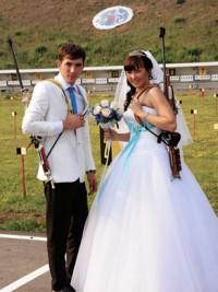 Биатлонисты Николай Якушов и Ольга Галич