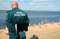 Чебоксарский центральный городской пляж. Фото О. Мальцева