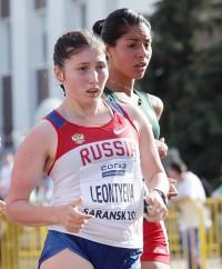 Надежда Леонтьева и Сандра Аренас