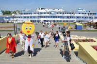 """Пресс-тур от Москвы до Самары на теплоходе """"Президент"""". Фото О. Мальцева."""