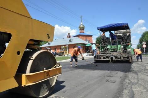 строительство дорог в Чувашии