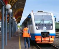 Пригородный поезд в Чувашии