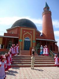 Открытие новой мечети в с. Урмаево Комсомольского района