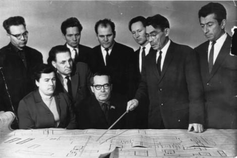 Обсуждение дальнейшего развития Чувашского государственного университета. Декабрь 1967 г.