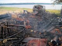 Пожар в Сосновке