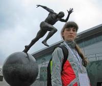 Паралимпийская чемпионка Елена Иванова. Фото с сайта РДЮСШОР-1.