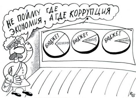 коррупция кариктура