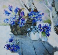 Выставка произведений заслуженного художника ЧР Ивана Даренкова
