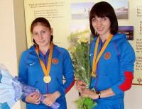 Екатерина Блескина и Надежда Леонтьева