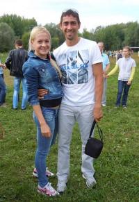 Легкоатлеты Акмаль Ишов и Екатерина Горбунова