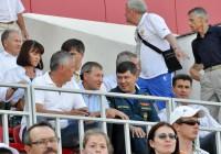 Болельщики-генералы Станислав Антонов и Сергей Семенов