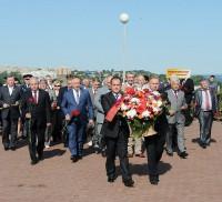 Возложение венков у вечного огня в Чебоксарах 22 июня