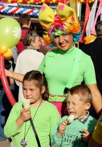 Дегустация мороженого на Дне города Чебоксары