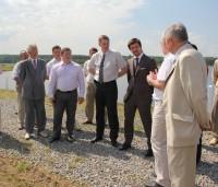 Открытие станции водоочистки в Вурнарах