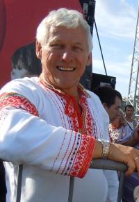 Владимир Глазунов, один из лучших гармонистов России