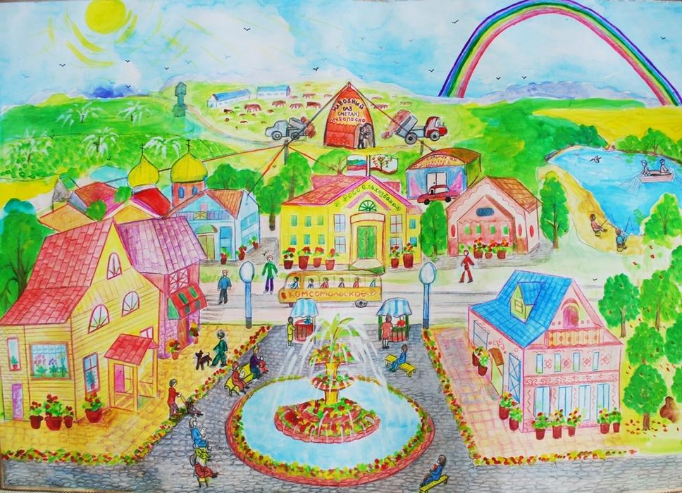 Рисунок для детей о будущем