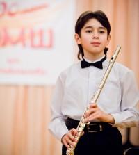 Флейтист Тимур Джафаров.