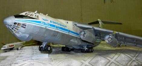 Модель самолета Ил-76 от Дмитрия Кучерова, с. Янтиково