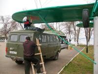 самолет По-2 памятник козловка