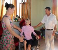 Инвалидная коляска для Ксении Мухиной