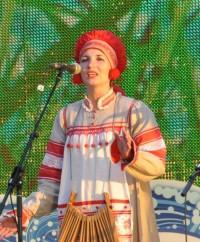 Оксана СЕРГЕЕВА, участница фестиваля «Родники России», Костромская область