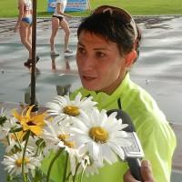 Олимпийская чемпионка-2004 по прыжкам в длину Татьяна Лебедева
