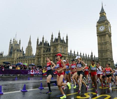 марафон Олимпиада-2012 Лондон